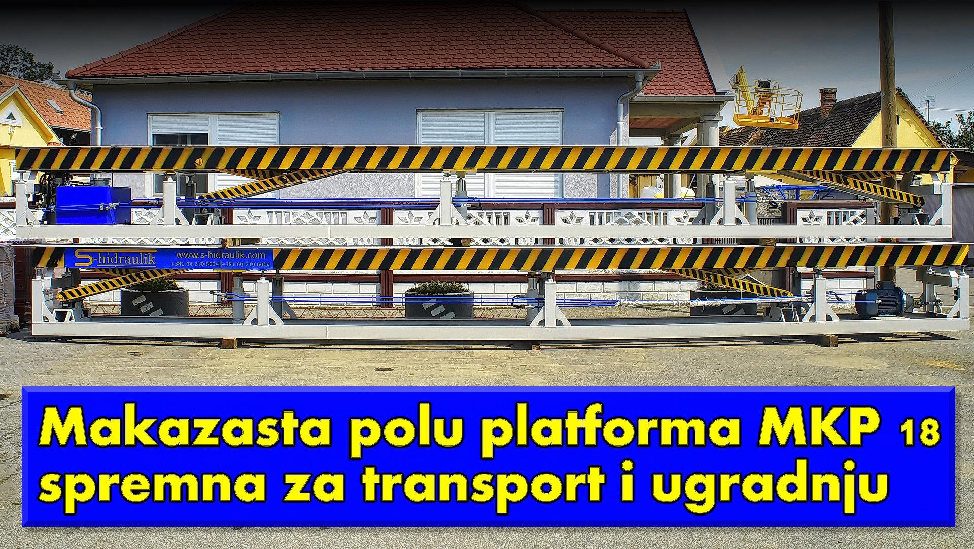 Makazasta polu platforma